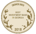 The Best Investment Bank in Georgia 2018 by Cbonds